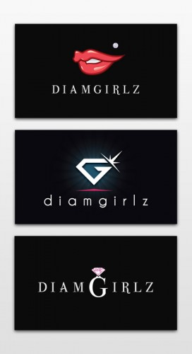 diamgirlz logo research