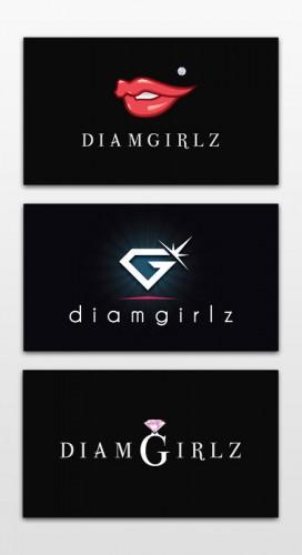 diamgirlz logo research
