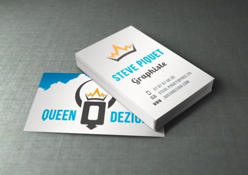 Carte de visite Queen Dezign