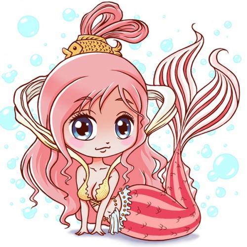 Princesse Shirahoshi chibi